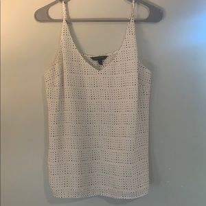 Banana Republic White Tank